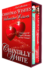 Christmas Wishes Valentine Kisses -- Chantilly White